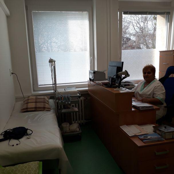 Ambulancia vnútorného lekárstva presťahovaná