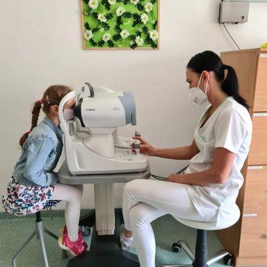 Očná ambulancia pre deti a dospelých pacientov
